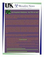 Biosafety News