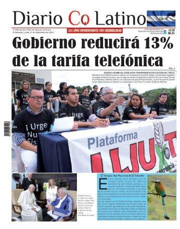 Edición 21 de Septiembre de 2015