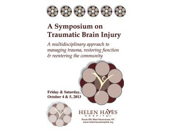 A Symposium on Traumatic Brain Injury