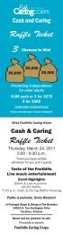 Raf e Ticket Raf e Ticket - Foothills Caring Corps