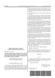 Decreto 6 agosto 2012. Ministero del Lavoro e delle Politiche Sociali.