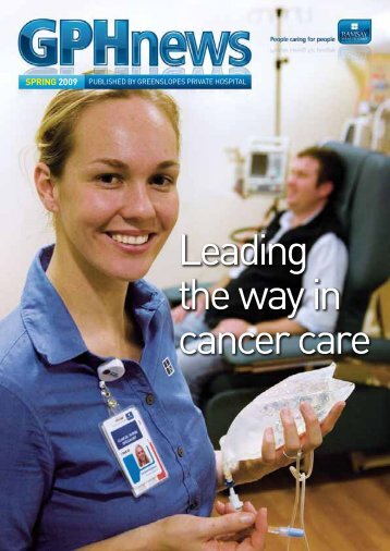 Leading the way in cancer care