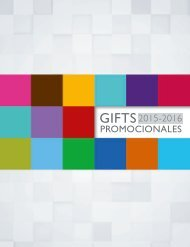 Gifts Promocionales 2015-2016