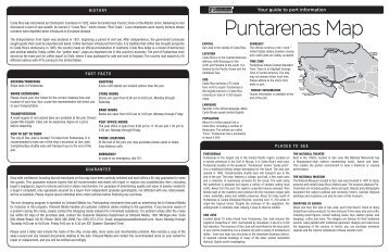 Puntarenas Map