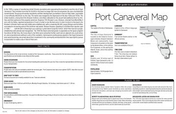 Port Canaveral Map