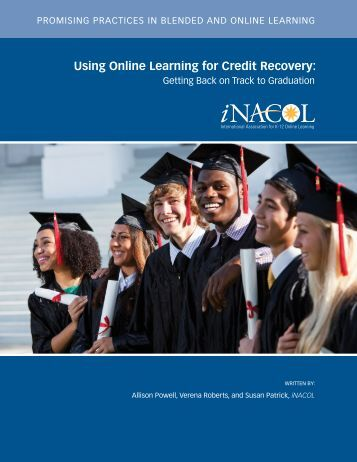 Using Online Learning for Credit Recovery