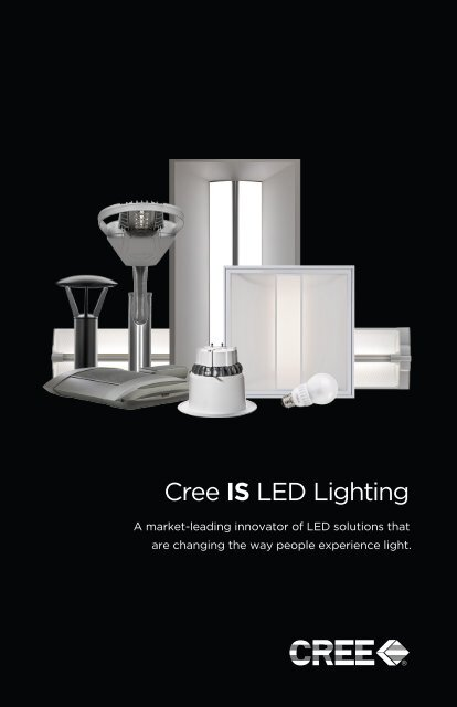 Cree Is Led Lighting