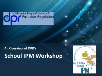 School IPM Workshop