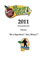 2011 Financial Literacy Poster Contest Participation Kit - GreenPath ...