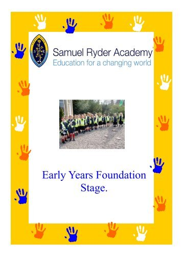 early years foundation stage Early years foundation stage framework early years (under 5s) foundation stage framework (eyfs) details the standards that school and childcare providers must meet for the learning, development and care of children under 5.