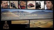 El Rally Dakar en La Quebrada de Humahuaca Del 09 al 13 de enero de 2014