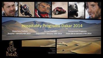 Hospitality Programs Dakar 2014