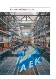 AEK Geschäftsbericht 2011 - AEK Energie AG