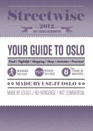 YOUR GUIDE TO OSLO