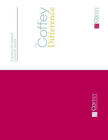 Final Coffey Difference Booklet