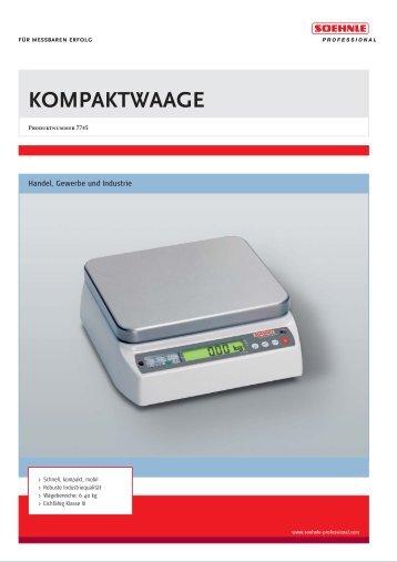 KOMPAKTWAAGE - Alwa Grunder AG
