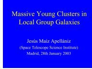 Massive Young Clusters in Local Group Galaxies