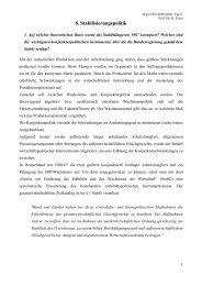 8. Stabilisierungspolitik - Wiwi Uni-Frankfurt