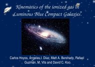 Kinematics of the ionized gas in Luminous Blue Compact Galaxies