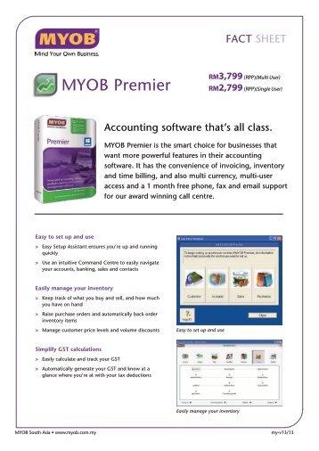 MYOB Premier