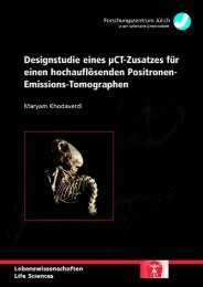 Emissions-Tomographen - JuSER - Forschungszentrum Jülich