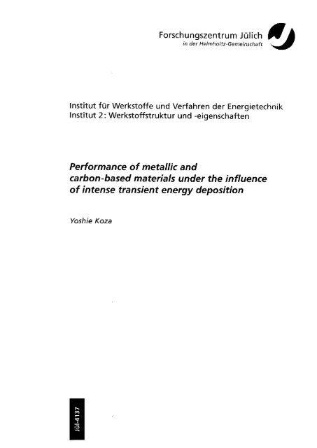 Juel_4137_ Koza.pdf - JuSER - Forschungszentrum Jülich