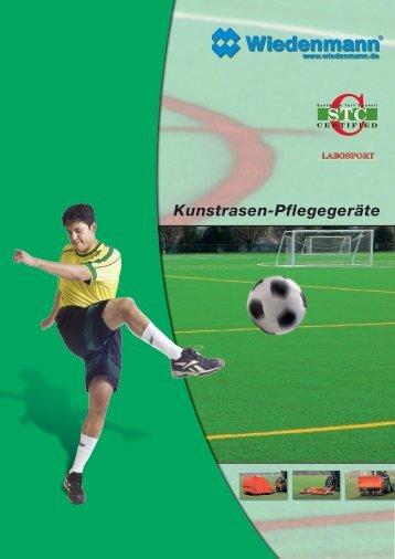 Kunstrasen-Pflegegeräte - Wiedenmann GmbH