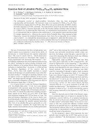"""Coercive field of ultrathin Pb""""Zr0.52Ti0.48…O3 epitaxial films - JuSER"""