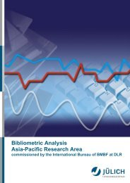 Bibliometric Analysis Asia-Pacific Research Area ... - JuSER