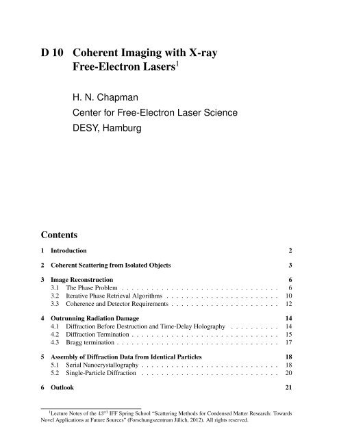 Free-Electron Lasers