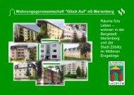 Räume fürs Leben - Wohnungsgenossenschaft Glück Auf eG ...