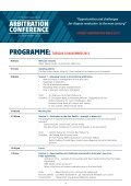 ARBITRATION CONFERENCE - Page 2