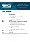 ARBITRATION CONFERENCE - Page 3