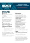 ARBITRATION CONFERENCE - Page 5