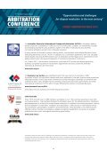 ARBITRATION CONFERENCE - Page 6