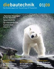 diebautechnik 01|09 - ThyssenKrupp Bautechnik
