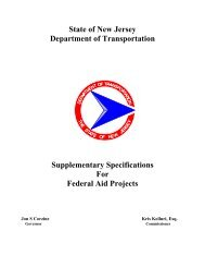 supplementary specifications for federal aid projects - State of New ...