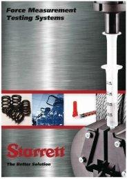 Starrett Force Measurement Brochure.pdf - WD Hearn