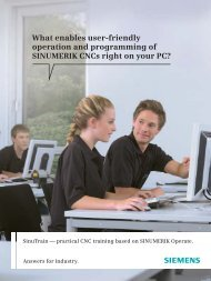 What enables user-friendly operation and programming ... - WD Hearn