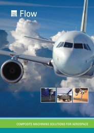 COMPOSITE MACHINING SOLUTIONS FOR AEROSPACE