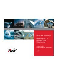 VDM 1000 TM / H Complete Gear Manufacturing