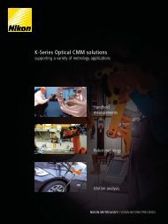 K-Series Optical CMM solutions
