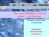 - the years behind years to come ….in Norway