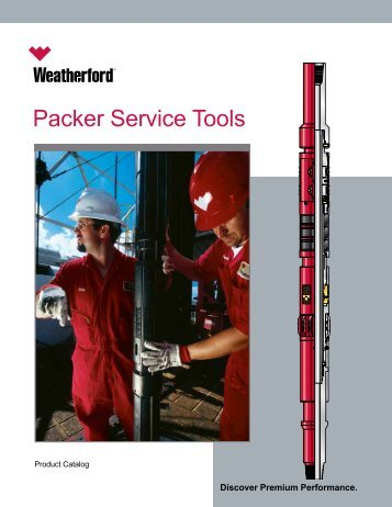 Packer Service Tools Catalog - Weatherford International