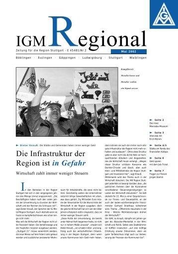 Facharbeiter/-in Metall - IG Metall Region Stuttgart