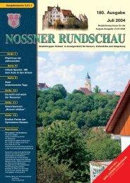 180. Ausgabe Juli 2004 - Nossner Rundschau