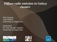 Diffuse radio emission in Galaxy clusters