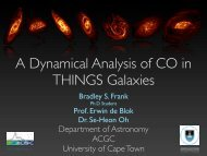 A Dynamical Analysis of CO in THINGS Galaxies