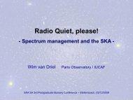 Radio Quiet please!