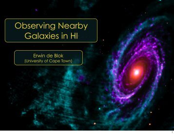 Observing Nearby Galaxies in HI